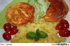 *Fajnový* smažený sýr 20 Min, Palak Paneer, Grains, Cheese, Meat, Chicken, Ethnic Recipes, Seeds, Korn