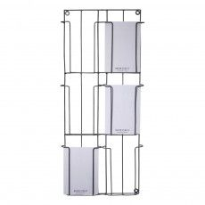 Create your own wall of pictures or cards, only tonight at home or at the office. The bracket is fixed to the wall. Postcard Holder, Metal Walls, The Office, Metallica, Decoration, Madam Stoltz, Storage Ideas, Cosy, Postcards