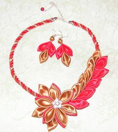 1266 Best Satin Ribbon Creations Images On Pinterest Ribbon Crafts