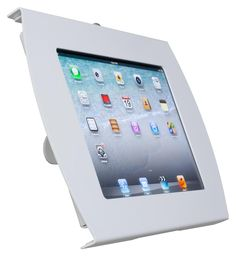 Secure iPad Wall Mount | Locking Enclosure, for easy student useage