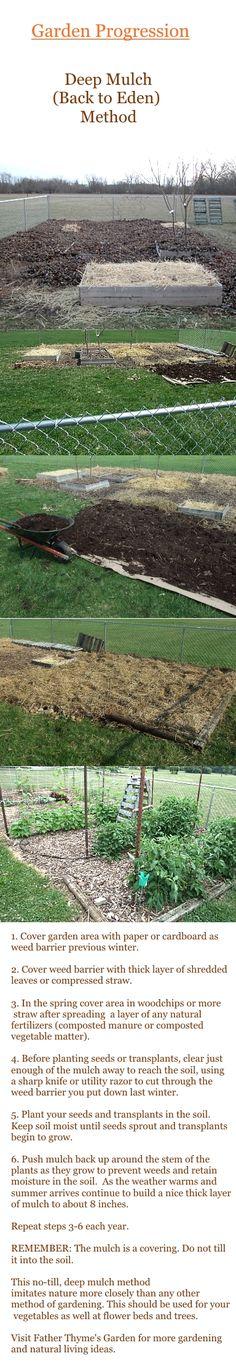 Deep Mulch Gardening , 36 Best Mulching Images On Pinterest