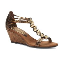 New York Transit Brighter Beauty Women's Wedge Sandals, Size: medium (7.5), Brown Oth