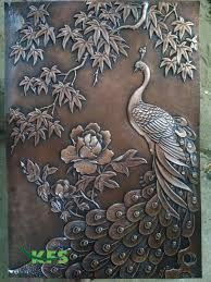 Image result for peony wall relief