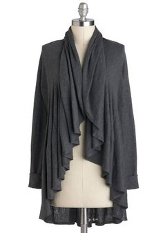 When the Going Gets Ruffle Cardigan, #ModCloth