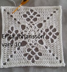My crochet journey with the Victorian Lattice Square . Crochet Square Blanket, Granny Square Crochet Pattern, Crochet Blocks, Crochet Diagram, Crochet Chart, Crochet Squares, Crochet Blanket Patterns, Crochet Granny, Crochet Motif
