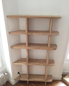 Yesterday's twins bookshelves with some leftovers oak #woodworking #menuiserie #design #bibliotheque