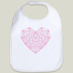 Fun Indie Art from BoomBoomPrints.com! https://www.boomboomprints.com/Product/fimbis/Abstract_Hearts/Baby_Bibs/Cloud_White_Bordered_Baby_Bib/  #fimbis #BoomBoomPrints #baby #babygirl #babyboy #babygear #babyshower #maternity #babies  #heart #momlife #dadlife #family #kids #babystyle #love #irishart #geometric #abstract #pink #cute #expectantmother #pregnant #hearts #fashion #fashionblogger #style #stylish #bib #babybib