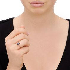 Effervescence Black Mini Pearl Ring, Links of London Jewellery