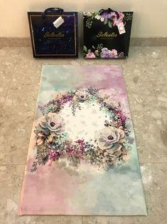 Your place to buy and sell all things handmade Prayer Mat Islam, Islamic Prayer, Islamic Gifts, Floral Print Design, Floral Prints, Prayer Corner, Ramadan Crafts, Beautiful Prayers, Prayer Room