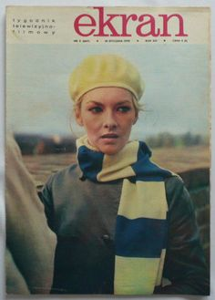 Beret, Werewolf, Cover Photos, Magazine Covers, Newspaper, Cover Art, Poland, Actresses, Retro