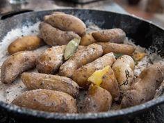 Get Salt-Crusted Fingerlings Recipe from Food Network
