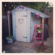 Our beach hut shed