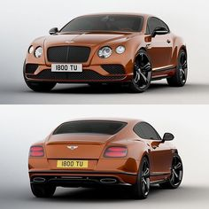 The 2016 Bentley Continental GT Speed
