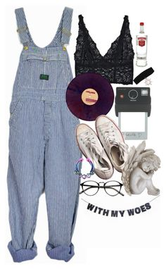 """""""Sin título #163"""" by starscounter394 ❤ liked on Polyvore featuring Lonely, Sessions, Hot Topic, Donkey Products, Converse and Universal Lighting and Decor"""