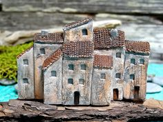 Miniature ceramic house | Flickr - Photo Sharing!....or can I make these from wood?
