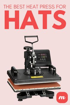 When using HTV for small items like hats, you need the best hat heat press to do the job. Vinyl Craft Projects, Vinyl Crafts, Best Heat Press Machine, How To Dye Fabric, Dyeing Fabric, T Shirt Press, Mod Melts, Vinyl Tumblers, Sewing Machine Reviews