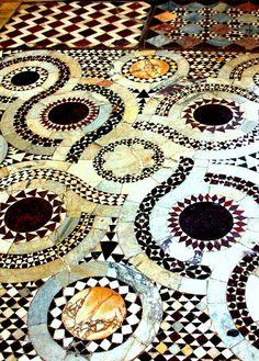Italy the floor of Farfa Abbey | Flickr -