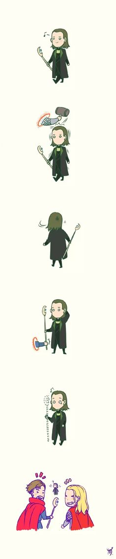 I found it on 漫威 WeChat public accounts. Dr. Strange and Loki! via: @鹿驼少女