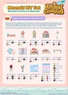 Animal Crossing Guide, Animal Crossing Villagers, Animal Crossing Qr Codes Clothes, Animal Crossing Pocket Camp, Animal Games, My Animal, Ac New Leaf, Motifs Animal, Mermaid Diy