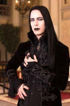 Goth + Aristocratic   #WesternFashion