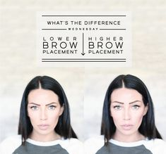 Brows Make Such a Difference!