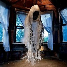 Love!!! Floating ghost prop