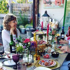 Bohemian table setting september 2015