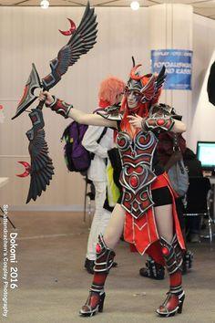 Cosplayer: Yashinura Cosplay Character: Tyrande - Master Skin From: Hereos of the Storm - Blizzard Photo: Schattendrachen's Cosplay Photography Here: DoKomi 2016
