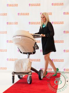 The #Stokke #Xplory stroller is always runway-ready!