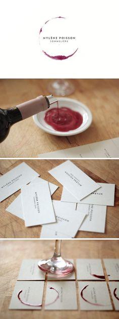 Diseñando tarjetas relacionadas con el mundo del vino