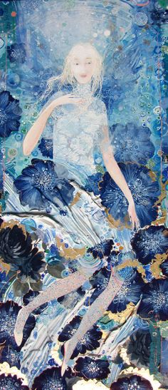 "♥Artist: Yulia Luchkina; Mixed Media, Painting ""Doll. """