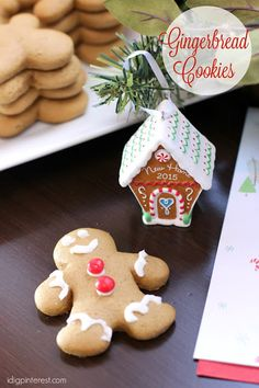 Soft Gingerbread Cookies Recipe and Fun Holiday Traditions for Kids. Make and decorate gingerbread cookies with the kids to create fun holiday memories! Then let them select a special Hallmark ornament to place on the tree each year!