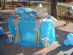 βάπτιση αγόρι - Αναζήτηση Google Baptism Party, Baptism Ideas, Christening Decorations, Candy Table, Confetti, Cool Kids, Birthdays, Bloom, Table Decorations