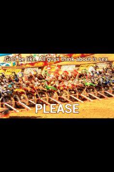 Motocross. Story of my life!