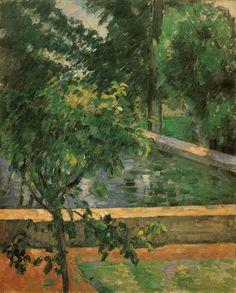 Le Bassin du Jas de Bouffan, 1878, Paul Cézanne