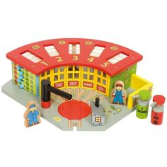 Big Jig Toys-Five Way Engine Shed