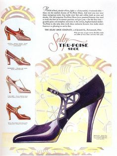 "Selby Shoes, 1929, Scanned from Taschen's ""All-American Ads of the 20s"""