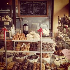 #bakeries #bakery #bake www.AllThingsBaking.org LOVE this display.