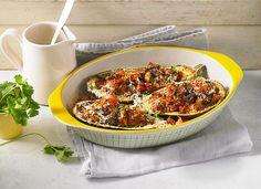 Auberginen/Melanzane gefüllt und gebacken, ein beliebtes Rezept aus der Kategorie Warm. Bewertungen: 55. Durchschnitt: Ø 4,1.