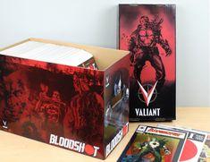 10 BCW Short Cardboard Comic Box with POW Art Design