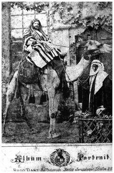 Foto de Dom Pedro II no Egito