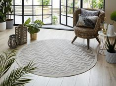 Our Outdoor range of rugs are constructed from man-made fibres making them durable, waterproof and easy to clean - ideal for patios and porches. Outdoor Carpet, Indoor Outdoor Rugs, Outdoor Area Rugs, Outdoor Living, Round Outdoor Rug, Circular Rugs, Outdoor Range, Circle Rug, Outdoor Coffee Tables