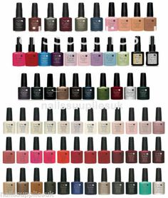 CND Shellac nail polish, Choose from ALL colours,Top Coat & Base Coat .UV Gel | eBay