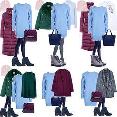 Как собрать зимний базовый гардероб? | Стильная без каблукОВ | Яндекс Дзен