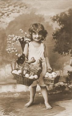 Altered Stuff: Friday Freebie - A Free Vintage Easter Image For You