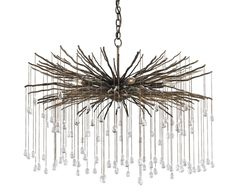 View the Currey and Company 9451 Fen 6 Light 1 Tier Chandelier at LightingDirect.com.