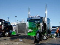 Peterbilt 379 Peterbilt Show Truck Show Trucks, Rc Trucks, Big Rig Trucks, Diesel Trucks, Chevy Trucks, Peterbilt 379, Peterbilt Trucks, Custom Big Rigs, Custom Trucks