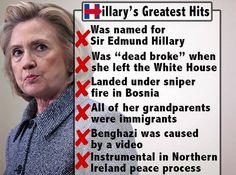She and Obama went to the same school of morals.
