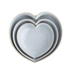 JD Wolfe™ heart bowls//
