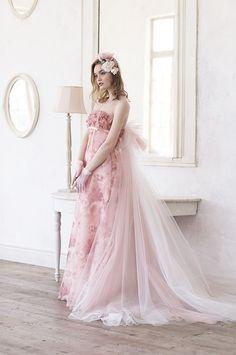 dball~dress ballgown #ballgown #Wedding #pink | image: dball2020.tumblr.com